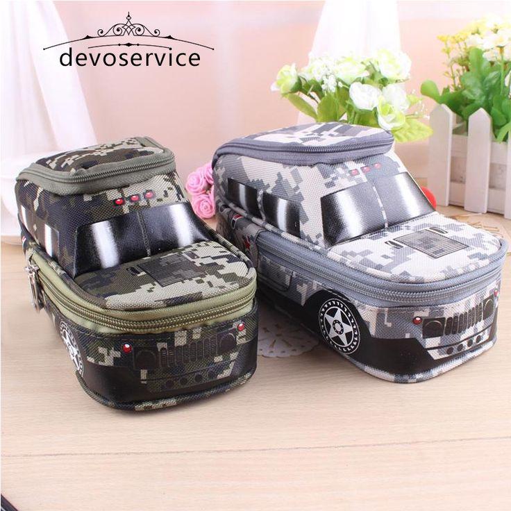 $4.88 (Buy here: https://alitems.com/g/1e8d114494ebda23ff8b16525dc3e8/?i=5&ulp=https%3A%2F%2Fwww.aliexpress.com%2Fitem%2FLarge-Capacity-Multifunctional-Pen-Bag-Pencil-Case-Boys-Camouflage-Off-road-Vehicle-Stationery-Box%2F32705109279.html ) Cool Kids Pen Box Car Pen Bag Creative School Supplies Kids  Large Capacity Pencil Case estuche escolar 3 cremalleras for just $4.88