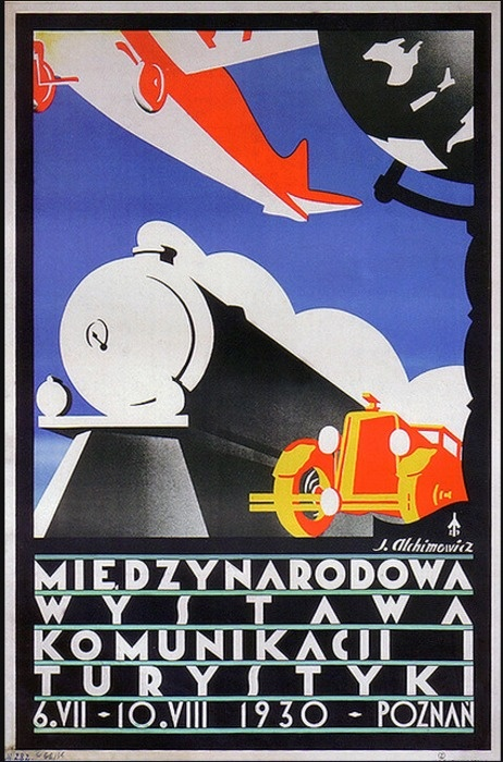 International Transport and Tourism Exhibition    6th of July to 10th of August-1930-Poznan