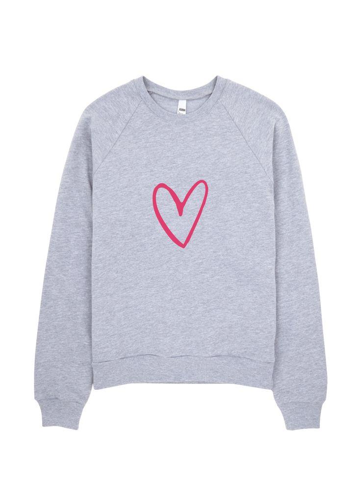 dancelove Crewneck Sweatshirt by dancelove. #danceapparel #dancequotes #dancer #danceclothing #dance #heartsweater