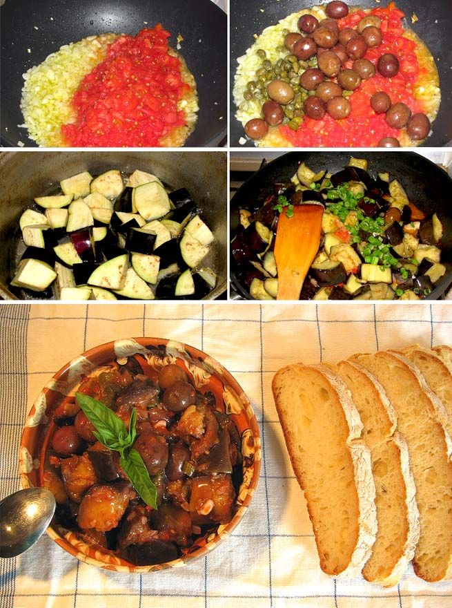 Things to do with eggplant.... Caponata alla siciliana