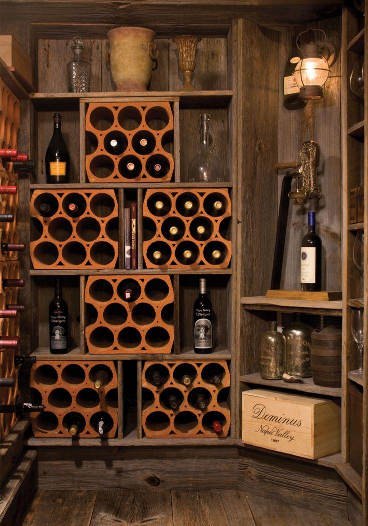 Assez Les 25 meilleures idées de la catégorie Conception de cave à vin  XN08