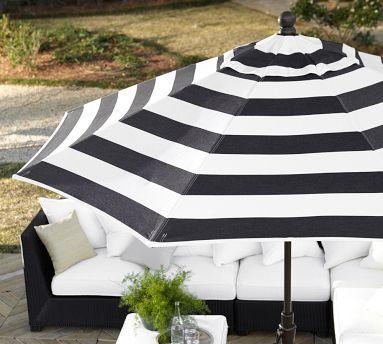 I love black & white stripes!