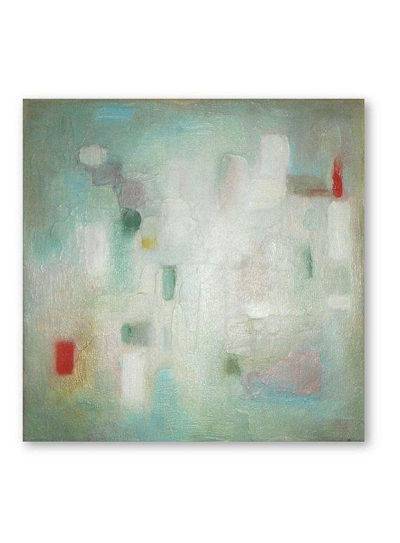 Abstract Oil Painting Art Original Abstract Artwork by VESNAsART