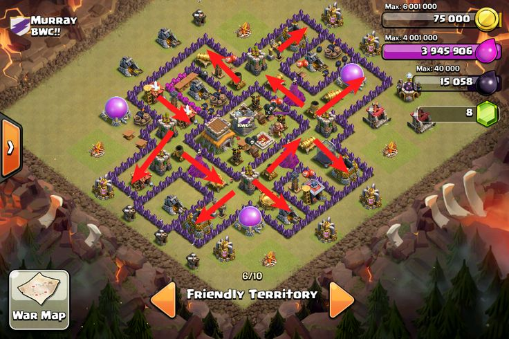 Cyanide - TH 9/TH 8 War Base {Anti GoWiPe/GoWiWi/GiWiPe/Air} -