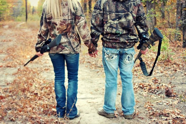 Engagement pictures --country wedding - camo - hunting - hunters - the hunt is over