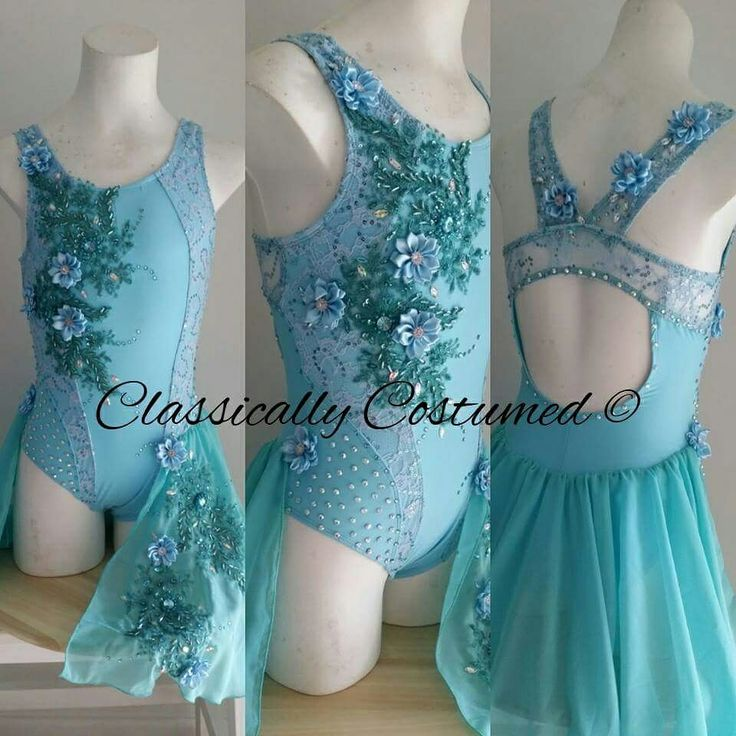 Lyrical dance costume by Classically Costumed
