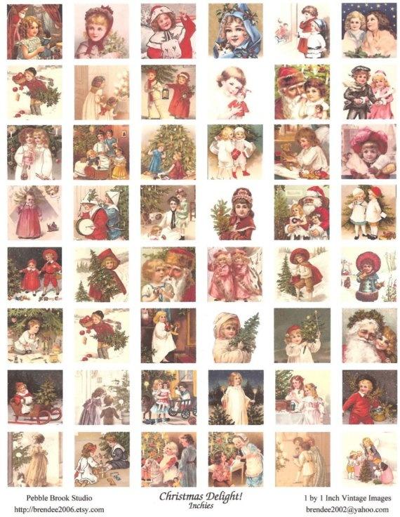 Christmas inchies