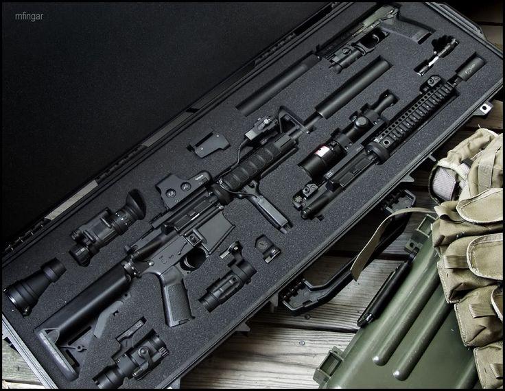 Custom gun cases - Like? Yes, please.