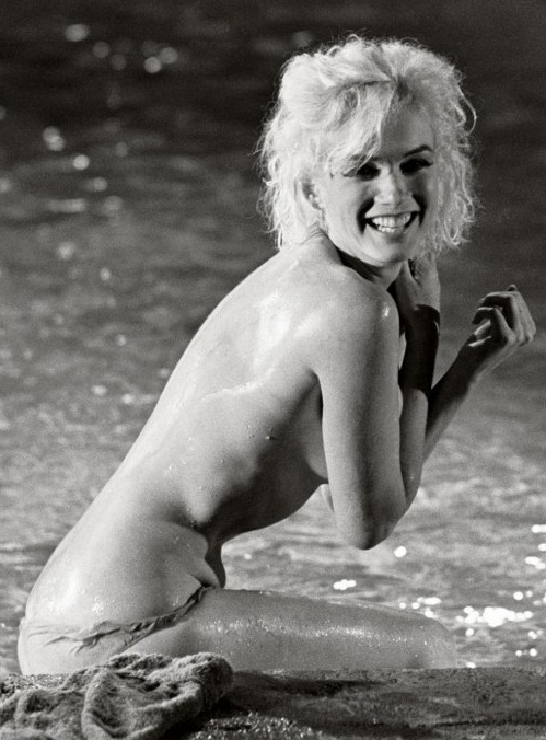 """The Lost Marilyn Nudes"", outtakes from her last on-set photo shoot."