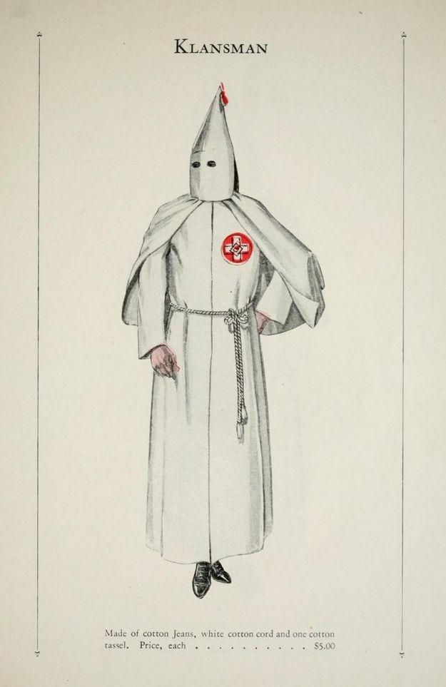 Your Official Ku Klux Klan Robe Catalog