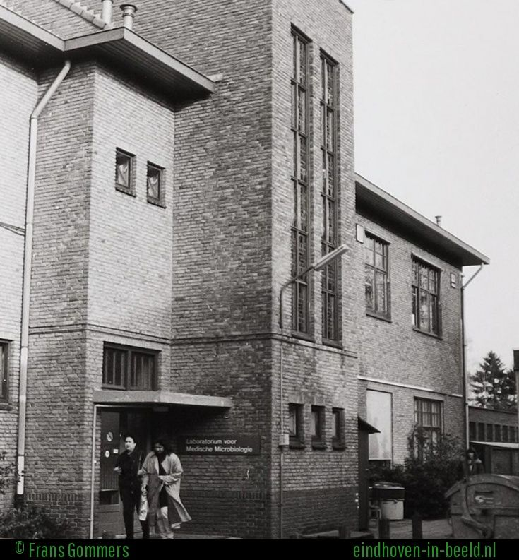 Een van de delen van het voormalige St. Joseph Ziekenhuis. Het laboratorium voor Medische Microbiologie PAMM