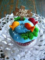 gone fishing cupcakes - Google Search
