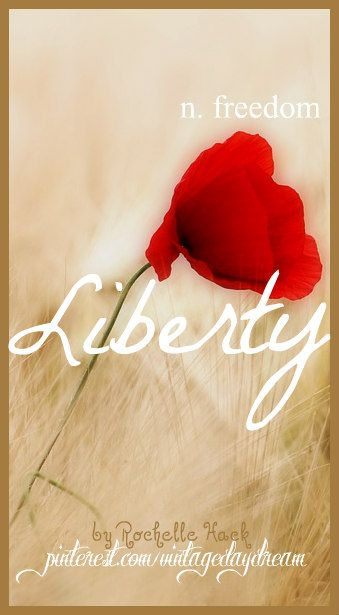 Baby Girl Name: Liberty. Meaning: Freedom. Origin: Middle English; Old French. https://www.pinterest.com/vintagedaydream/baby-names/