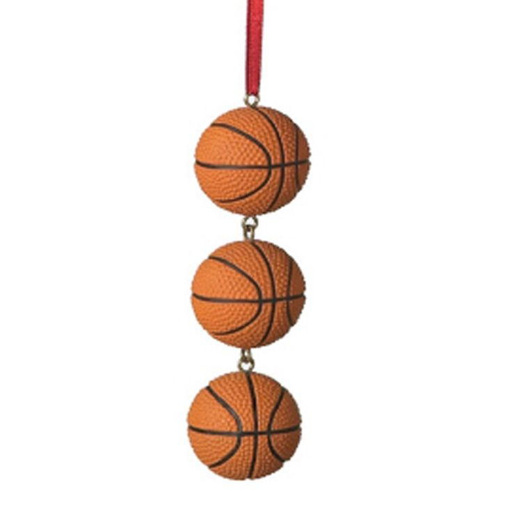 14 best Basketball Christmas Ornaments images on Pinterest