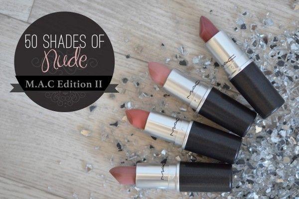 Le retour du Fifty shades of Nude (MAC Edition II : les rosés) sur le blog ! Le live : http://alittleb.fr/2015/11/26/fifty-shades-of-nude-mes-rouges-a-levres-neutres-edition-m-a-c-ii/