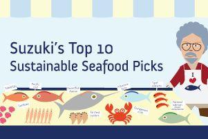 Suzuki's Top 10 Sustainable Seafood Picks