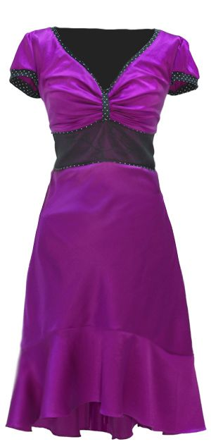 Joss - Magenta.  The perfect dance dress. The dress is named after the great soul singer Joss Stone. It s Ecouture's new version of the dance dress, in luxurious, bold silk-satin (94% silk with 6% elastane) and lined with organic cotton jersey [GOTS-certified]. This dress is completely fitted. It is made for dancing, so the silk drapes your curves beautifully. http://ecouture.dk/kleider-1/joss-magenta.html?___store=gb&___from_store=gb