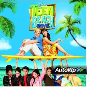 TEEN BEACH MOVIE Soundtrack starring Ross Lynch and Maia Mitchell!  #christmas #gift #ideas #present #stocking #santa #music #disney #teenbeach