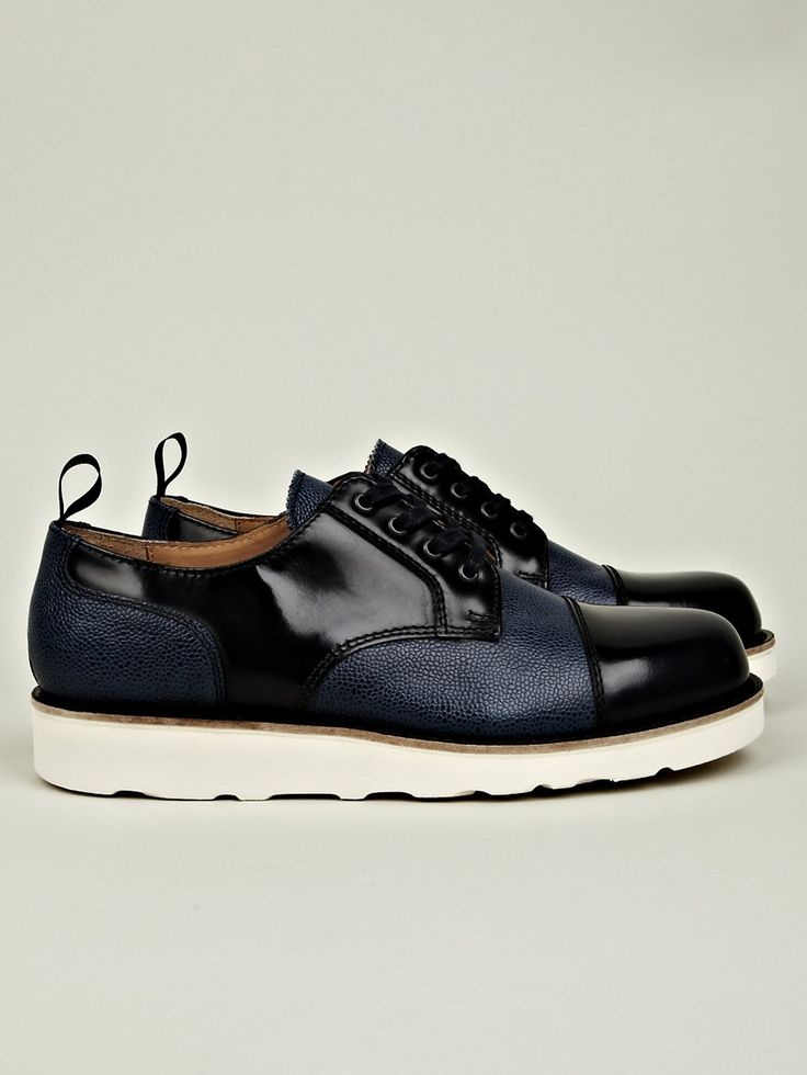 7036a6e54eb ... dress shoesmens  carven mens leather mix shoe with vibram sole