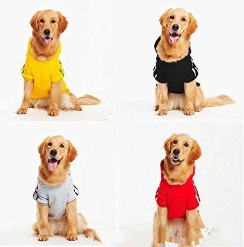 Idepet Cotton Adidog Large Dog Clothes Large Dog Clothes Dog