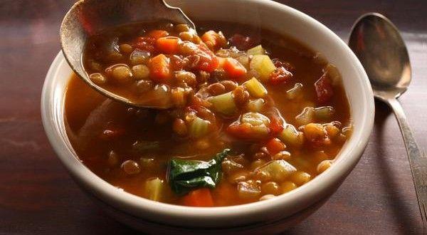 Receta fácil de sopa de lentejas | Los Sabores de México y el mundo