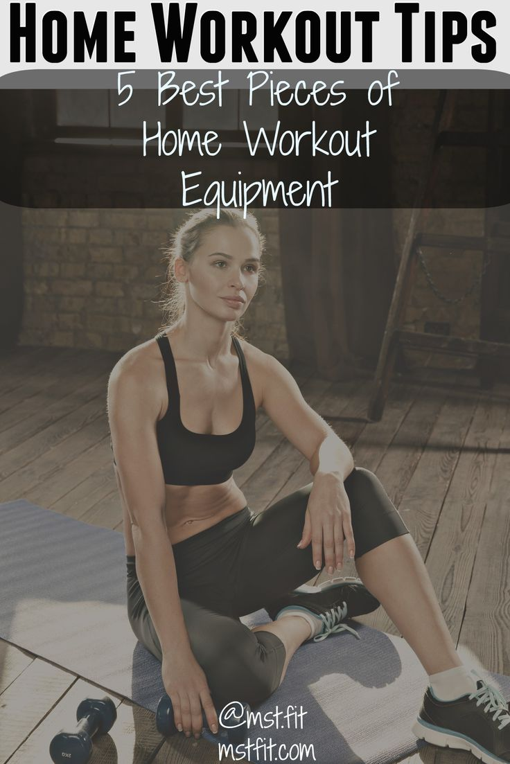 Take your home workout to the next level with the 5 best pieces of exercise equipment.