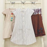 clothing redos to little girls dresses