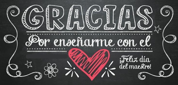 Día del maestro                                                       … …