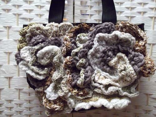 Borsa CROCHET tecnica freeform: Bags Mia, Crochet Freeform, My Passion, Freeform Bag, Diy, Freeform Crochet, Crochet Tecnica