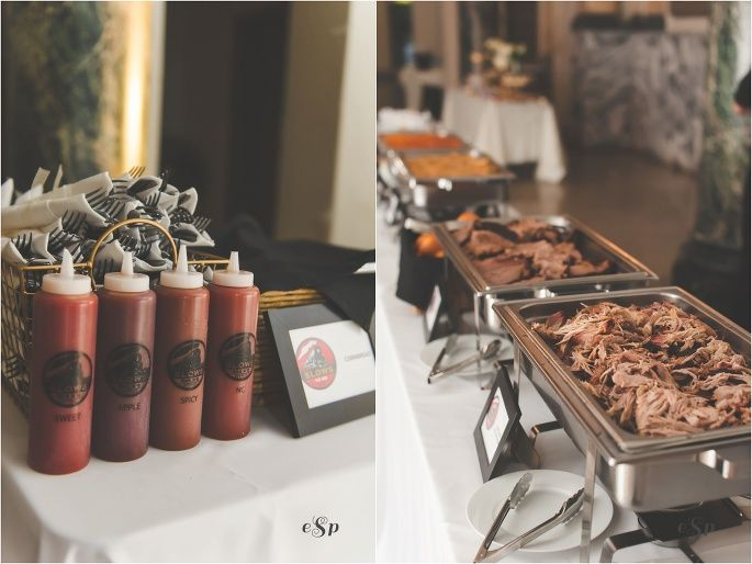 Slow's BBQ wedding catering | E Schmidt Photography | Metro Detroit Wedding Photographer | Belle Isle Wedding