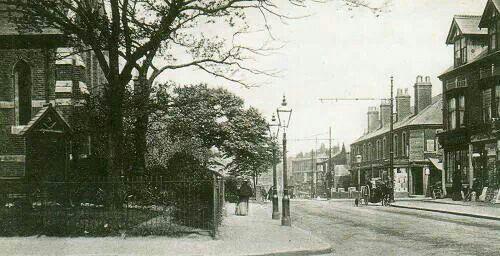 Corner of St Marys & Bearwood Rd