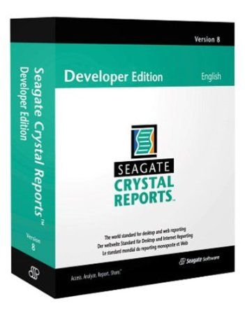 Seagate Crystal Reports 8 Developer Edition (5-user)Software Norton Amazing Discounts Your #1 Source for Software and Software Downloads! For More Info