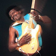 albert collins, nobody leaves this place without singing the blues.
