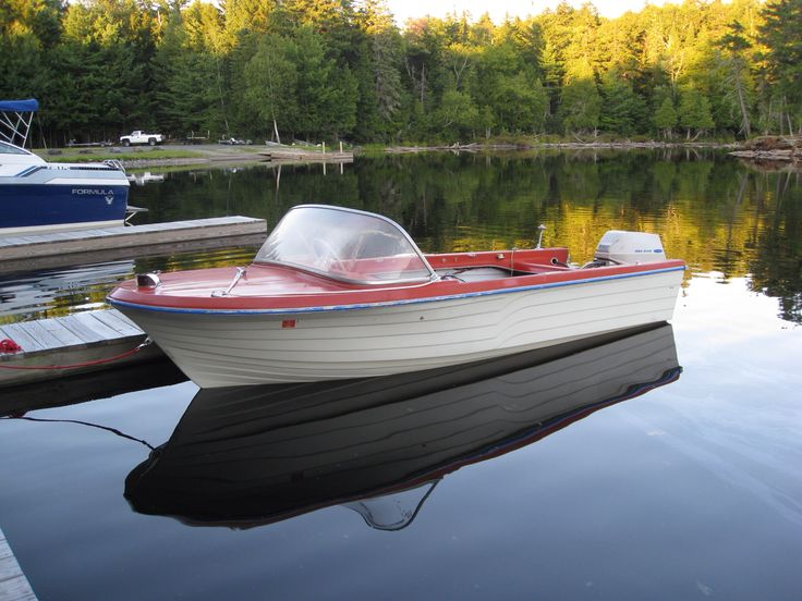 1964 montgomery ward sea king cool boats pinterest for Runabout boats with outboard motors