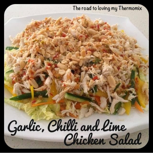 Garlic, Chilli and Lime Chicken Salad