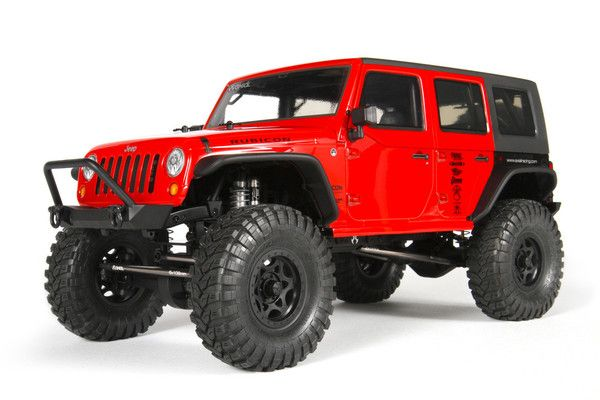 AX90027 - Axial SCX10 2012 Jeep Wrangler Rubicon 1:10 4WD Kit - CKRC Hobbies #ckrchobbies