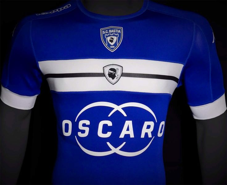 SC Bastia 16-17 Home Kit Released - Footy Headlines