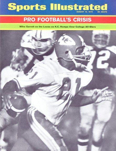 Mike Garrett of The Chiefs August, 10 1970