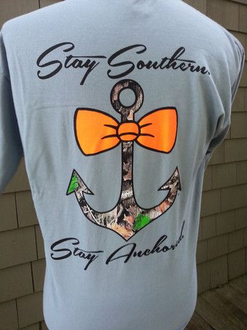 Southern Anchor Long Sleeve Tee - Two Friends