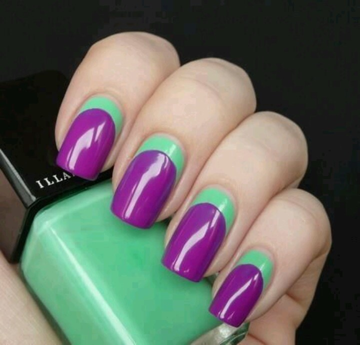 155 best Color Nails images on Pinterest | Color nails, Fashion and ...