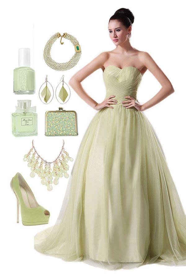 Ball Gown A-line Lace Dress -- Cherishdress. Please clickt to http://www.cherishdress.com/