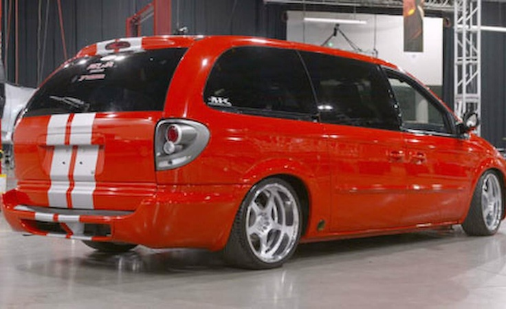 Grand Caravan Custom Srt6 Rare Cars Pinterest