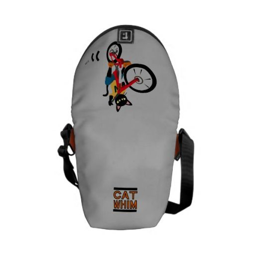 Bike Action Messenger Bags by Batkei at Zazzle