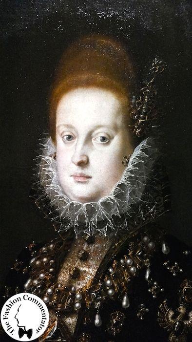 Mostra Jacopo Ligozzi Firenze - Ritratto di Margherita Gonzaga, 1593