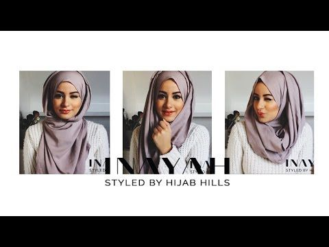How To Style Your INAYAH Scarf | Hijab Tutorial #2 - YouTube