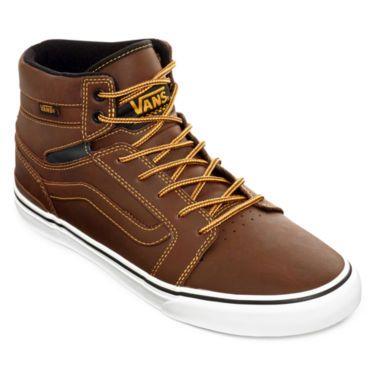 Mens Vans Sanction Skate Shoes