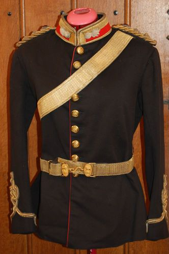 Royal Artillery Officers Full Dress Colonels Tunic