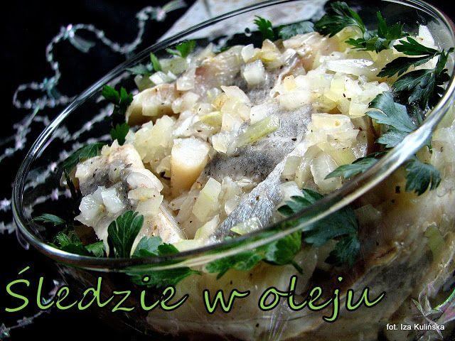 Smaczna Pyza sprawdzone przepisy kulinarne: Śledzie w oleju