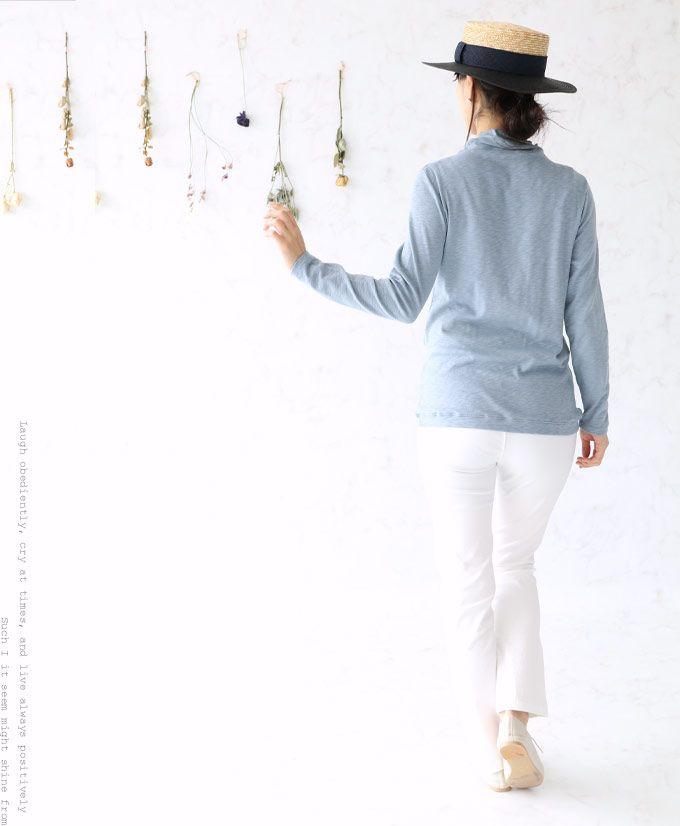 【楽天市場】(スモーキーブルー)無数に咲くお花の大人レーストップス3月30日22時販売新作(メール便不可):sanpo-bienvenue
