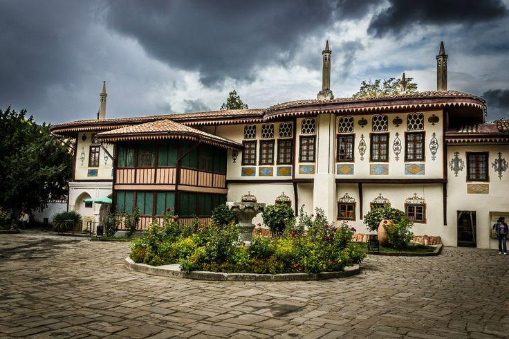 Ханский дворец....